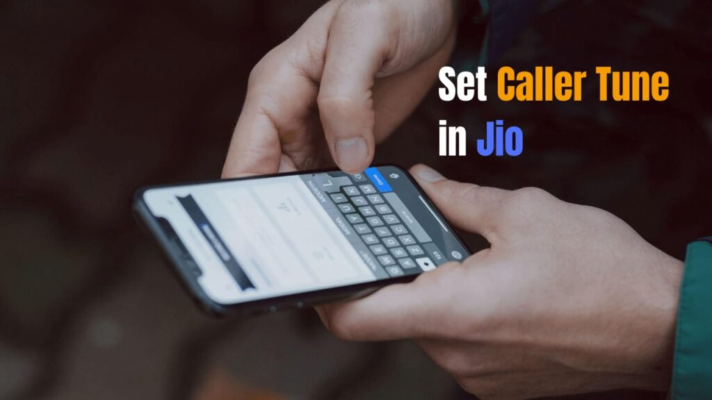 how to set caller tune in Jio